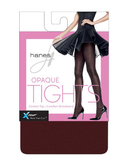 Hanes X-Temp® Opaque Control Top Tights with Comfort Waistband women Hanes
