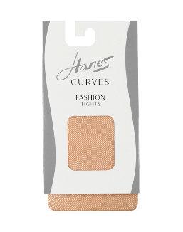 Hanes Curves Fishnet Tights women Hanes