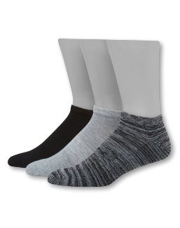 Hanes Men's 1901 Heritage Half Cushion Low Cut Socks 3-Pack men Hanes