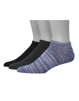 Hanes Men's 1901 Heritage Super Low No Show Socks 3-Pack men Hanes