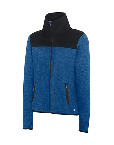 Champion Women' Premium Tech Fleece Full Zip Jacket - J29900