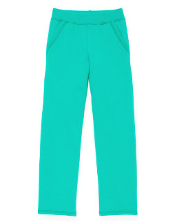 Hanes Girls' Fleece Open Leg Sweatpants with Pockets youth Hanes