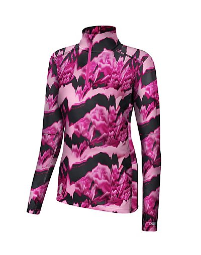 Duofold Womens Thermatrix Print 1/4 Zip - KDC3QP