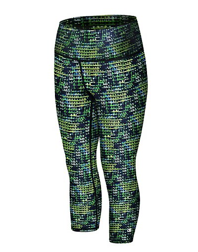 Champion Women's Absolute Printed Capris With SmoothTec™ Band - M0554P