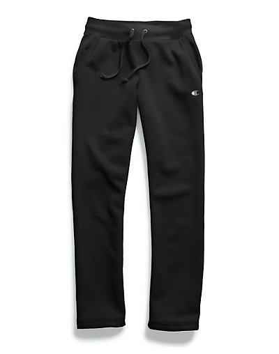 Champion M1064  Women's Fleece Open Bottom Pants