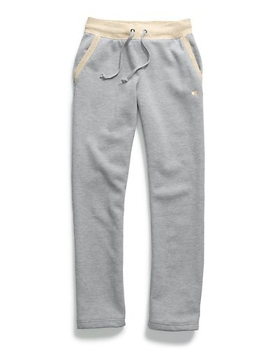 Champion Women's Fleece Open Bottom Pants M1064