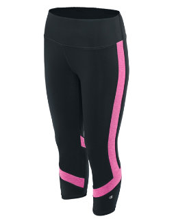 Champion Women Absolute Colorblock Capris With SmoothTec™ Waistband women Champion