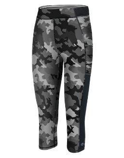 Champion Women's Gym Issue, Print Capris With Pocket women Champion