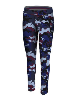 Champion Women Gym Issue Tight w/Side Pocket-Print women Champion
