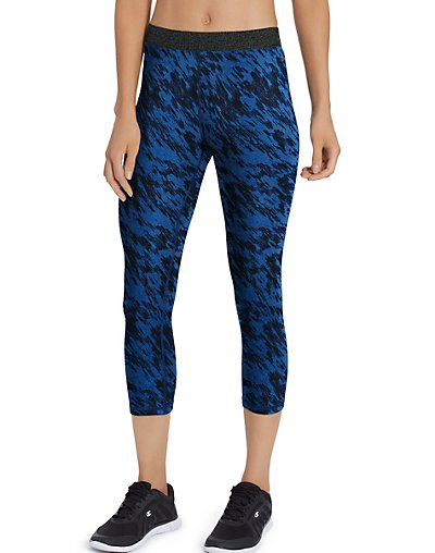 Champion Women's Printed Everyday Capris - M5072P