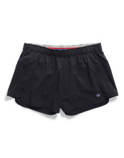 Champion Women's Woven Train Shorts With Side Stripes women Champion