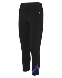 Champion Women's Graphic 7/8 Tights, V-Stripe women Champion