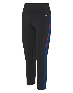 Champion Women's Graphic 7/8 Tights, Variegated Stripe women Champion