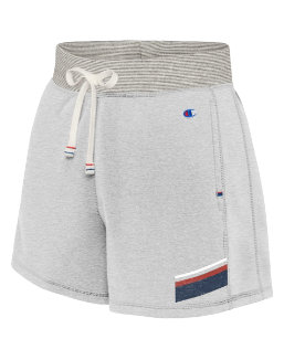 Champion Women's Heritage French Terry Shorts With Stripes women Champion