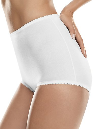 Hanes All-Over Shaping Moderate Control Brief - H051