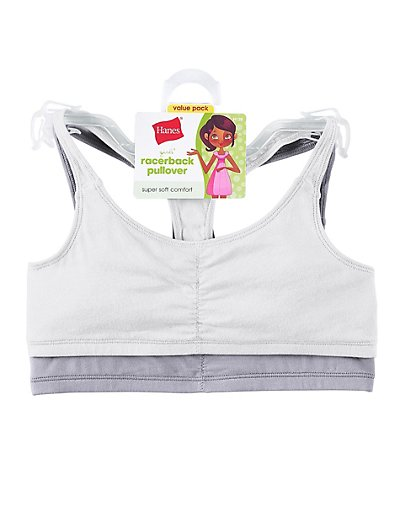 Hanes Girls' Sports Top, 2-Pack - H129