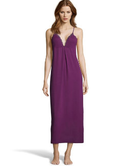 Maidenform Lace-Trim Maxi Gown women Maidenform