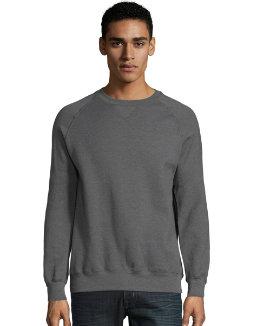 Hanes MenтАЩs Nano Premium Lightweight Crewneck Sweatshirt men Hanes