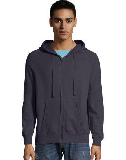 Hanes MenтАЩs Nano Premium Lightweight Full Zip Hoodie men Hanes