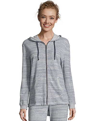 Hanes French Terry Zip Hoodie - O46931