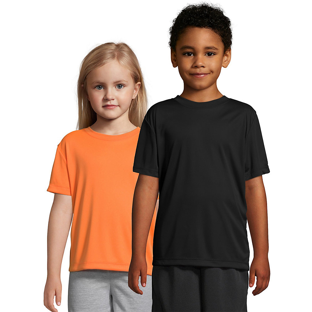 Hanes Boys' CoolDri Short Sleeve Tee Value Pack (3-pack)