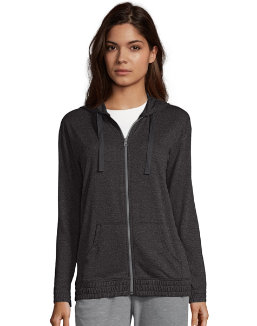 Hanes Women's French Terry Full Zip Hoodie women Hanes