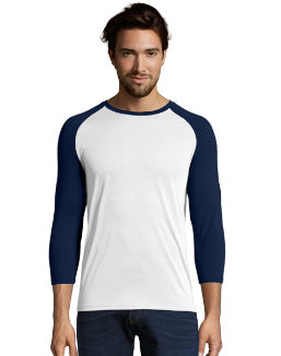 Hanes Sport™ Men's Performance Baseball Tee men Hanes