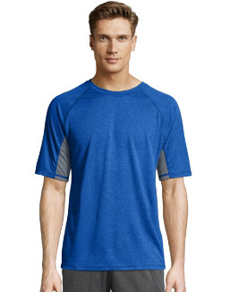 Hanes Sport™ X-Temp® Men's Performance Training Tee men Hanes