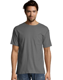 Hanes Men's Short Sleeve Pocket Tee Value Pack (2-pack) men Hanes
