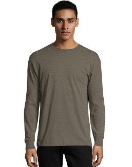 Hanes X-Temp® Men's Long-Sleeve T-Shirt men Hanes