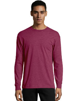 Hanes X-Temp® Men's Long-Sleeve T-Shirt men Hanes
