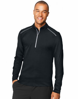 Hanes Sport™ Men's Performance Quarter-Zip Sweatshirt men Hanes