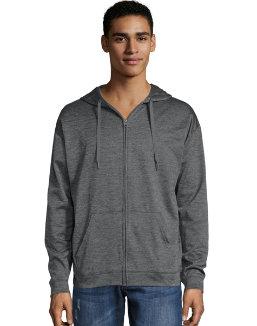 Hanes Sport™ Men's Performance Fleece Zip Up Hoodie men Hanes