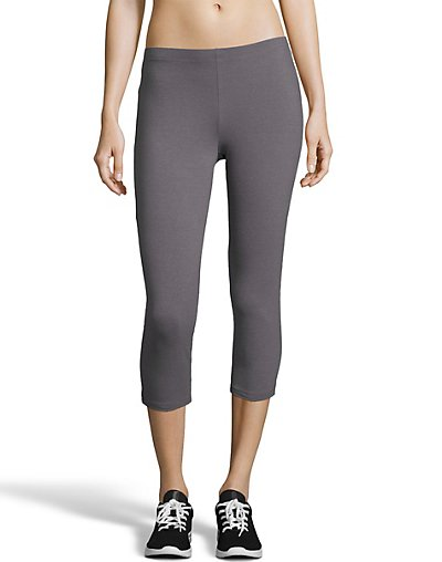 Hanes Women's Stretch Jersey Capri O9293