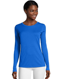 Hanes Sport™ Cool DRI® Women's Performance Long-Sleeve T-Shirt women Hanes