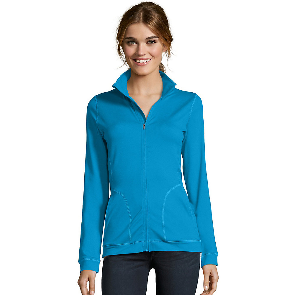 Hanes Sport™ Women's Performance Fleece Zip Up Jacket women Hanes