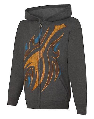 Hanes OD098  EcoSmart® Boys' Epic 98 Full-Zip Hoodie Sweatshirt