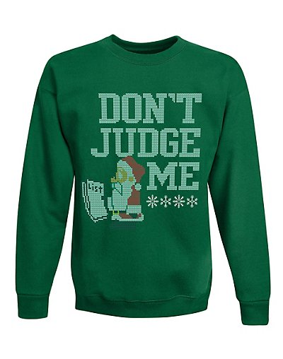 Hanes OD131  Boys' Ugly Christmas Sweatshirt