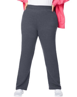 Just My Size ComfortSoft® EcoSmart® Fleece Open-Hem Women's Sweatpants, Average Length women Just My Size