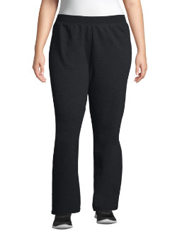 Just My Size ComfortSoft® EcoSmart® Fleece Open-Hem Women's Sweatpants, Petite Length women Just My Size
