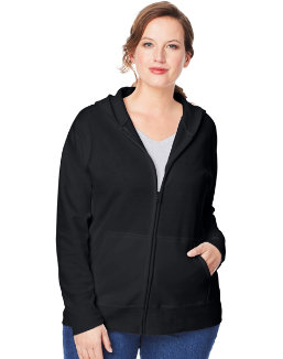 Just My Size ComfortSoft® EcoSmart® Fleece Full-Zip Women's Hoodie women Just My Size