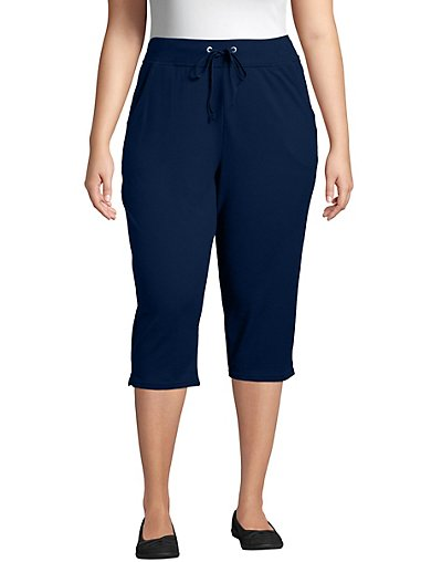 JMS Just My Size French Terry Women's Capris OJ185