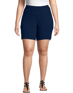 Just My Size Cotton Jersey Pull-On Women's Shorts women Just My Size