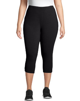 Just My Size Stretch Cotton Jersey Women's Capri Leggings women Just My Size