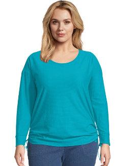 JMS Fashion Essentials Shadow Stripe Tunic women Just My Size