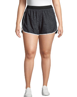 Just My Size Active Woven Run Shorts women Just My Size