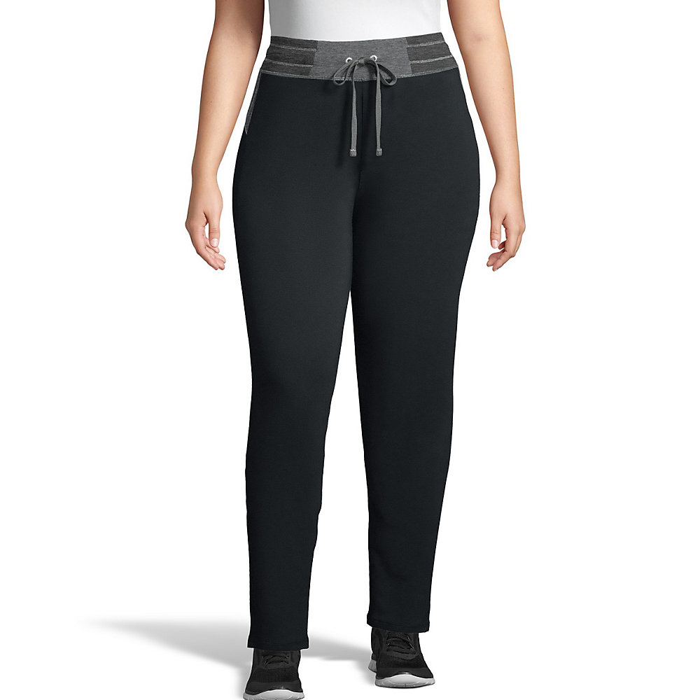JMS Active French Terry Contrast Pants women Just My Size
