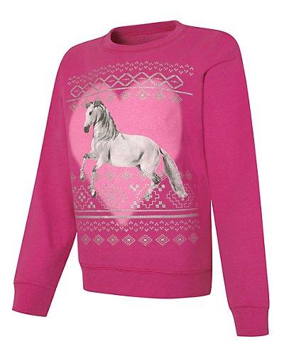 Hanes ComfortSoft EcoSmart Girls' Graphics Crewneck Sweatshirt - OK266