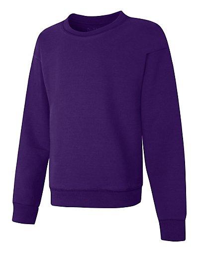 Hanes ComfortSoft EcoSmart Girls' Crewneck Sweatshirt - OK268