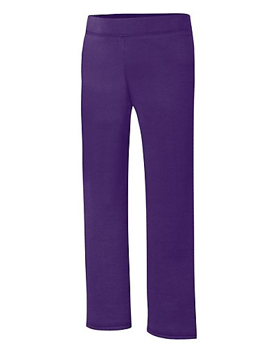 Hanes ComfortSoft EcoSmart® Girls' Open Leg Sweatpants - OK282